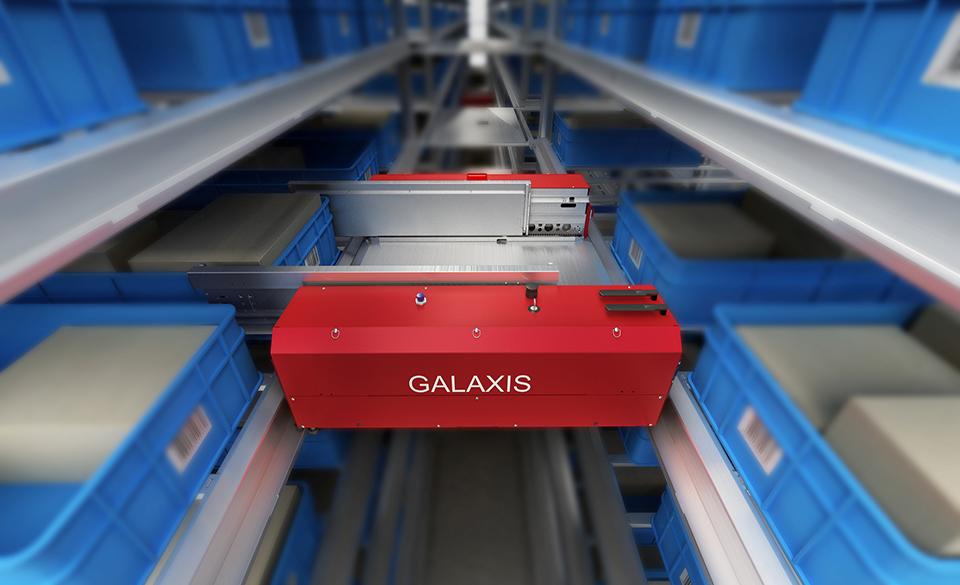 Обладатель первого приза национального интеллектуального транспортного робота - четырехсторонний шаттл компании «GALAXIS»